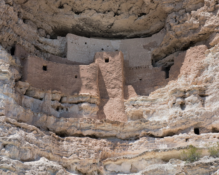 Montezuma Castle Indian Ruins.