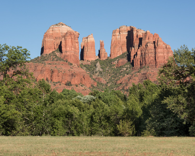 Cathedral Rock taken at Red Rock Crossing Park