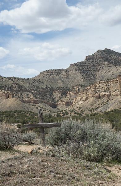 Cemetery, Sego Canyon