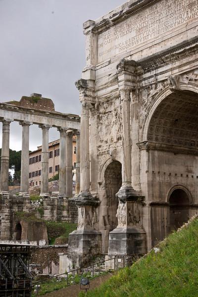 Roman Forum View