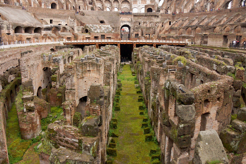 Colosseum Rooms in Ruin