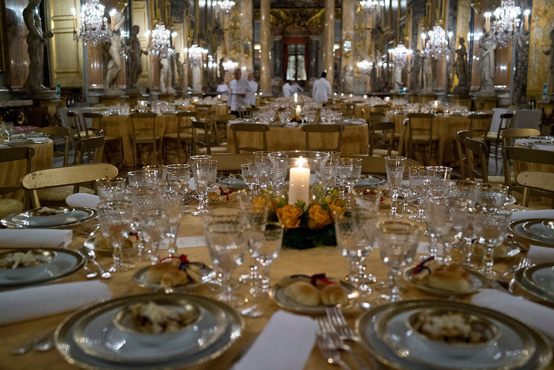 Palazzo Colonna - Dinner Settings for 500