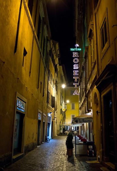 Street Scene - Rosetta Trattoria