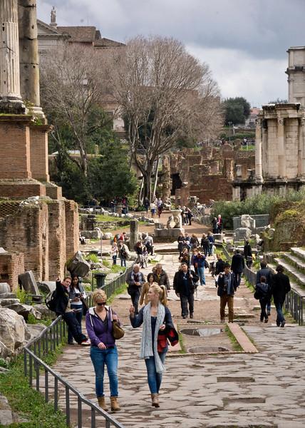 Roman Forum - Roman Road