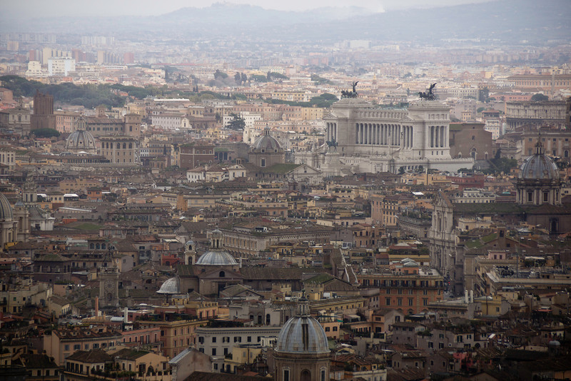 St. Peter' View from the Basilica, Roma, Italy
