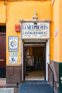 Seville bar entrance