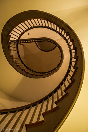 Staircase in Trustee's building, Shaker Village