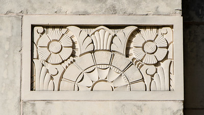 A little detail in the fifth courthouse building in Grayson County's history.
