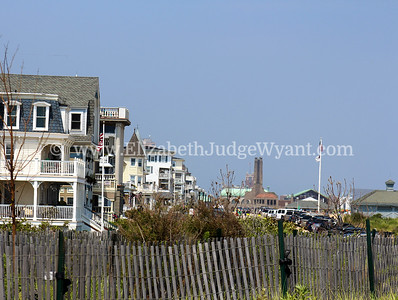View from Bradley Beach of Ocean Grove and Asbury Park, NJ 7/13/2014