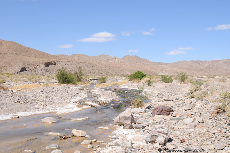 Amargosa River near Dumont Dunes