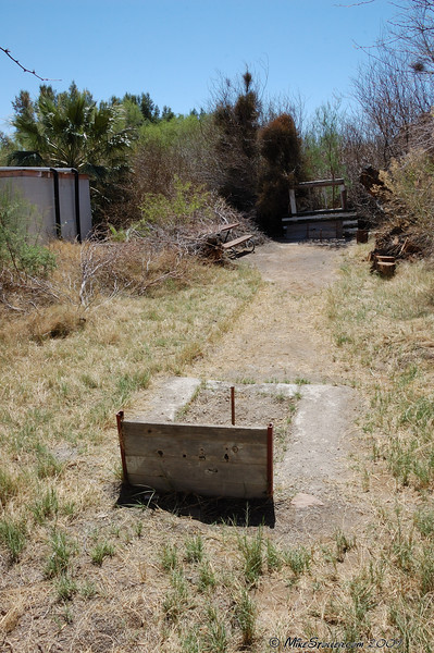 Shoshone RV Park Horse Shoe Pit.