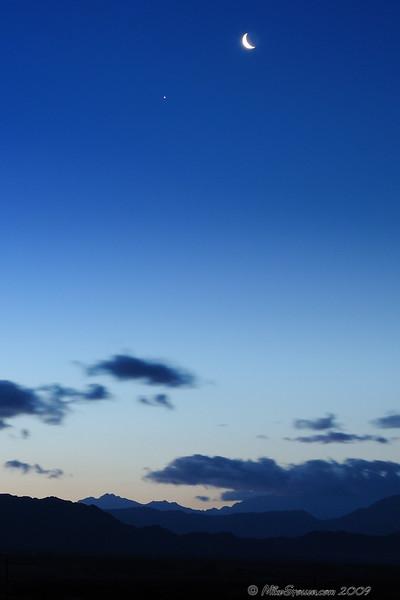 Moon Sunrise
