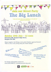 big lunch Coalport