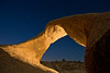 Alabama Twist<br /> <br /> Mobius Arch, Alabama Hills, Lone Pine, CA