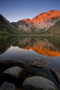 Convict Light  Morning light on Convict Lake