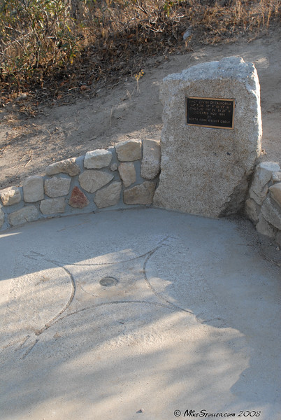 Exact Center of California, near North Fork, CA
