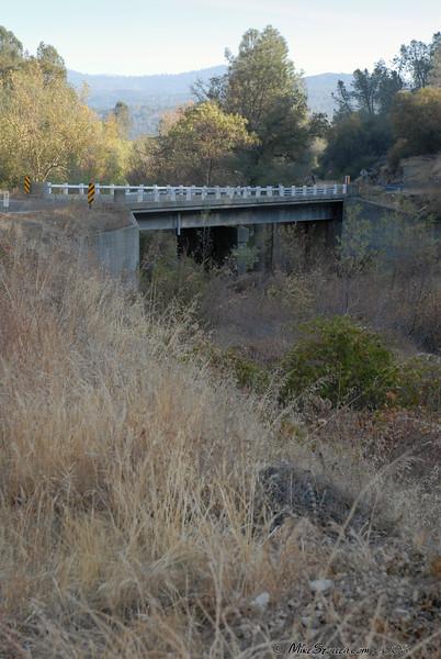 Bridge near O'Neals over Finegold Creek