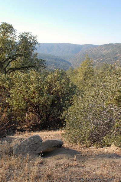 San Joaquin River below Redinger Lake
