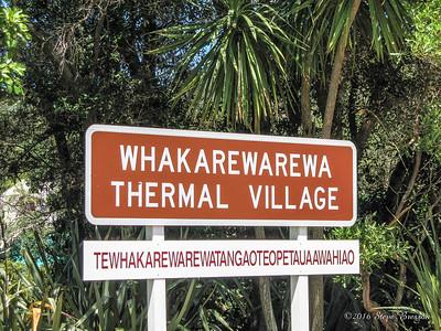 Whakarewarewa Thermal Village