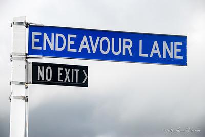 Endeavour Lane, No Exit