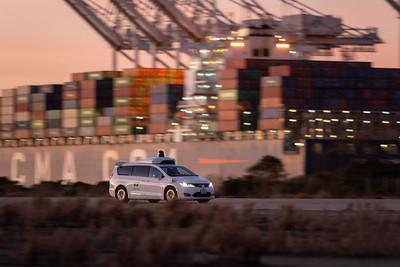 Waymo Self Driving Car Testing