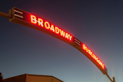 Brodway Neon Sign