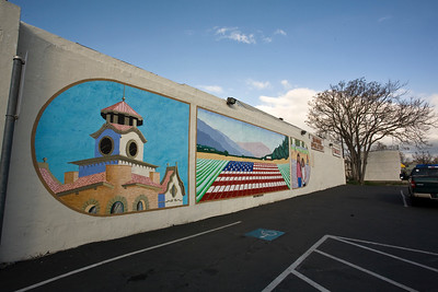 Mural Gilroy, CA