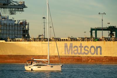 Oakland Estuary and Port