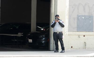 Waymo Self Driving Car Garage at 777 Harrison Street in San Francisco