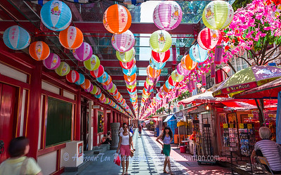 A Stroll Through China Town Colors