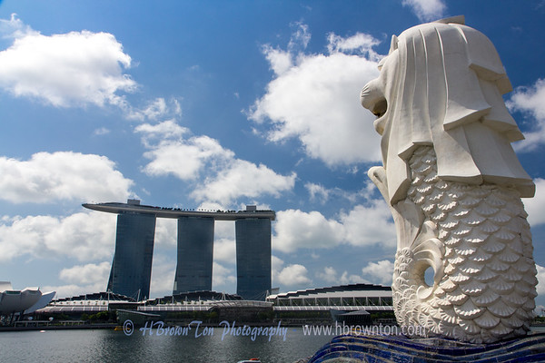 "Singapore is a Malay word for ""Lion City"" - one of a handful in the country"