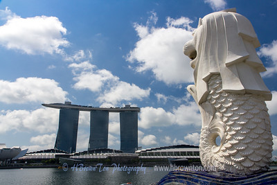 """Singapore is a Malay word for """"Lion City"""" - one of a handful in the country"""