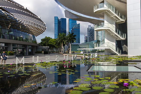 Reflections of the Science Museum of Singapore