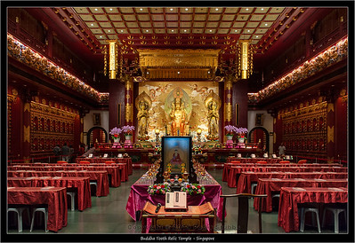 Buddha Tooth Relic Temple - Singapore
