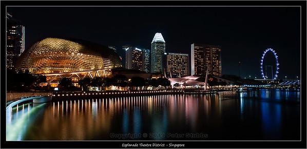 Esplanade Theatre District - Singapore