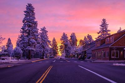 Frosty Sisters Sunrise