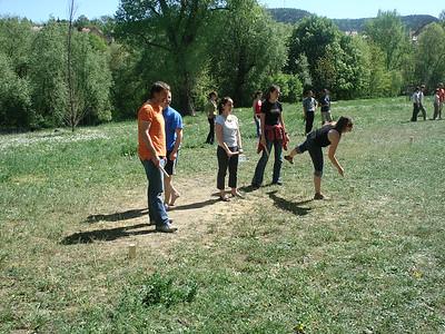 Kubb throwers