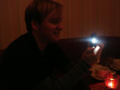 Mobile phone camera flash