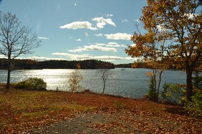 Fall scenery, Phippsburg, Maine 2014