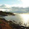 Views west from first beach, Hermit Island, Phippsburg, Maine