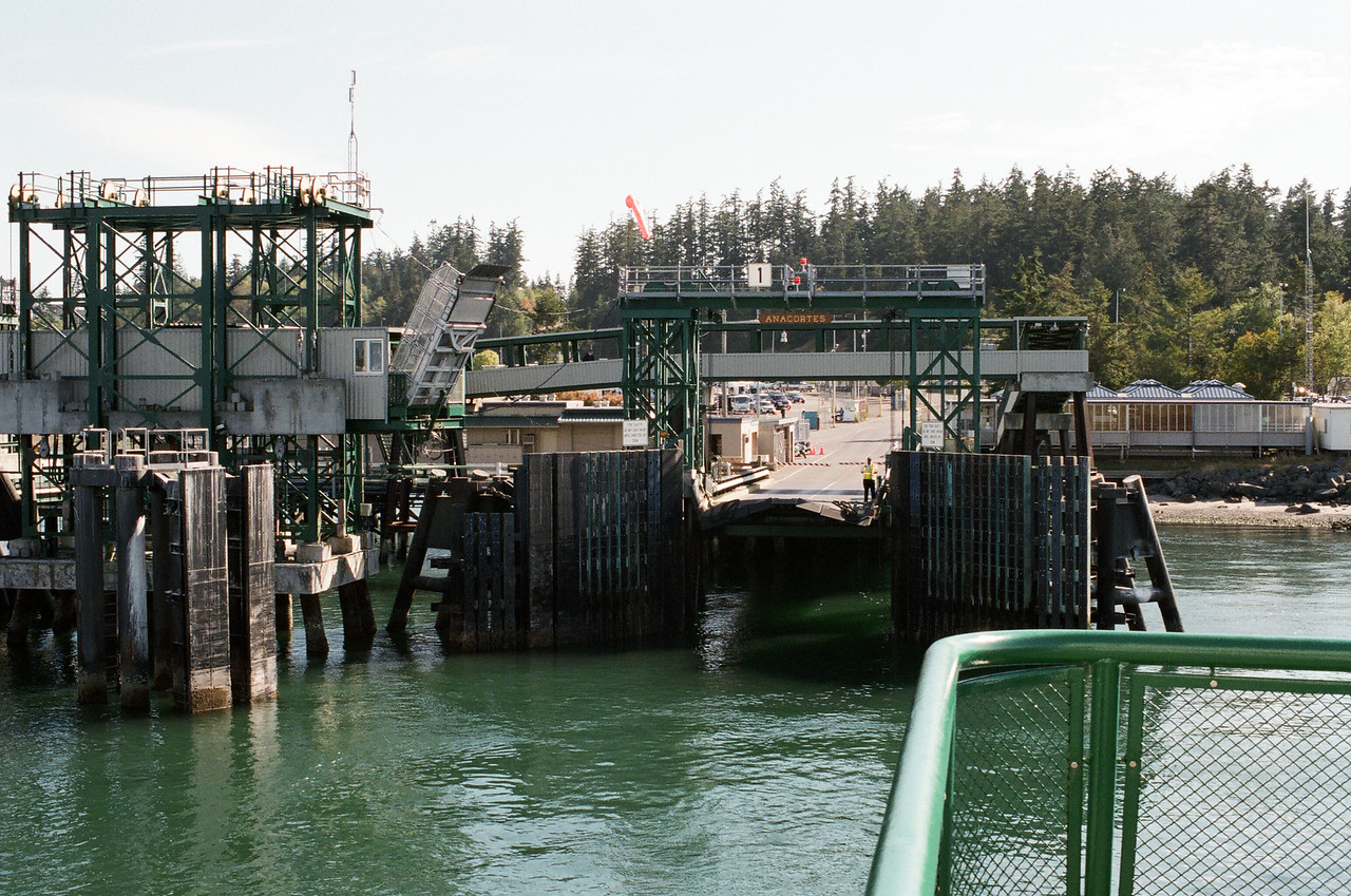 Anacortes Ferry Dock