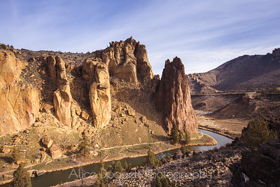 Morning At Smith Rock, Smith Rock State Park, Central Oregon