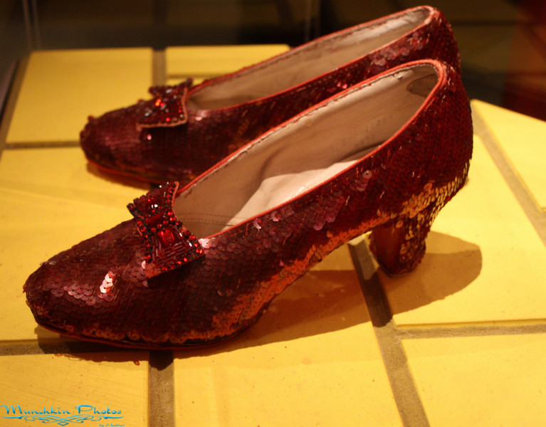 ruby slippers.