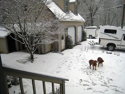 Snow in Nevada City area