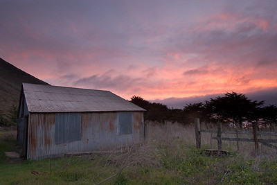 Soberanes Barn, Garrapata State Park, California