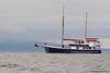 The Samba anchored - Punta Moreno, Isla Isabela, Galapagos, Ecuador