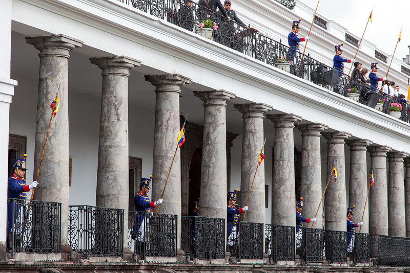 Changing of the Guard at Presidential Palace