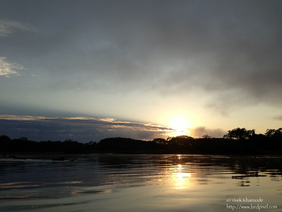 Sunrise on Rio Madre-di-dios - Peru