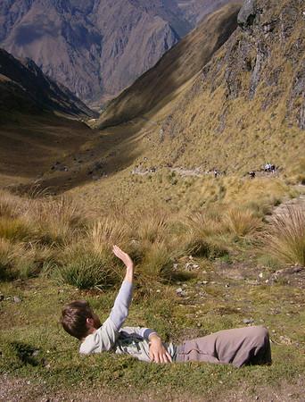 The Inca Trail to Macchu Piccu