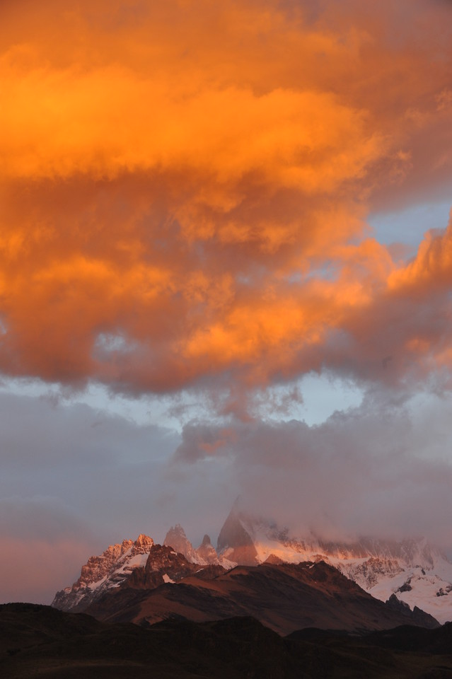 Fitz Roy at sunrise.